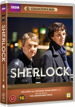 sherlock holmes - collector's box - bbc - DVD