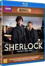 sherlock holmes - sæson 1 - bbc - Blu-Ray