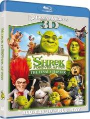 shrek 4 den lykkelige - forever after - 3D Blu-Ray