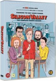 silicon valley - sæson 4 - hbo - DVD