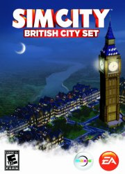 simcity london city - british city set - PC