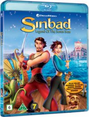 sinbad - legenden fra de syv have / sinbad - legend of the seven seas - Blu-Ray