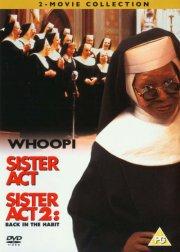 halløj i klosteret 1-2 / sister act 1-2 - DVD