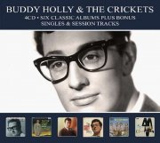 buddy holly & the crickets - six classic albums - cd