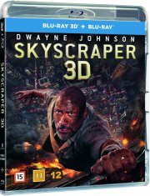skyscraper - the rock - 2018 - 3D Blu-Ray