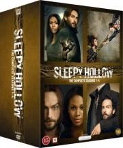 sleepy hollow - sæson 1-4 - den komplette serie - DVD