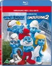 smølferne / the smurfs 1+2 - Blu-Ray