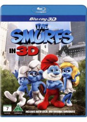 smølferne - 3D Blu-Ray