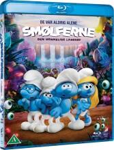 smølferne - den hemmelige landsby - Blu-Ray