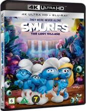 smølferne - den hemmelige landsby - 4k Ultra HD Blu-Ray