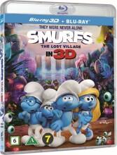 smølferne - den hemmelige landsby - 3D Blu-Ray