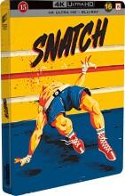 snatch - steelbook - 4k Ultra HD Blu-Ray