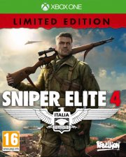 sniper elite 4 (limited edition) - xbox one