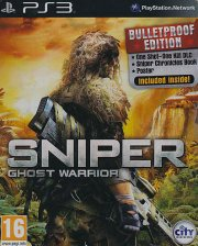 sniper ghost warrior - bulletproof ed. - dk - PS3