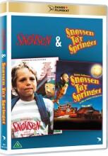 snøvsen / snøvsen ta'r springet - DVD