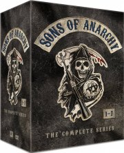 sons of anarchy - sæson 1-7 box - DVD