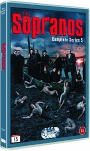 sopranos - sæson 5 - hbo - DVD