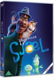 sjæl / soul - disney pixar - DVD