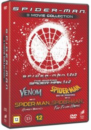 spider-man: complete 9 movie collection - box - DVD