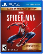 spider-man (game of the year) - PS4