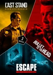 the last stand // bullet to the head // escape plan - DVD