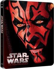 star wars: episode 1 / i - the phantom menace / den usynlige fjende - limited steelbook - Blu-Ray