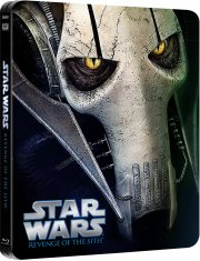 star wars: revenge of the sith - sith-fyrsternes hævn - episode 3 - steelbook - Blu-Ray