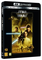 star wars: attack of the clones - klonernes angreb - episode 2 - 2020 udgave - 4k Ultra HD Blu-Ray