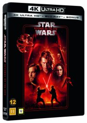 star wars: revenge of the sith - sith-fyrsternes hævn - episode 3 - 2020 udgave - 4k Ultra HD Blu-Ray