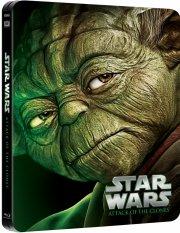 star wars: attack of the clones - klonernes angreb - episode 2 - steelbook - Blu-Ray