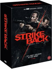 strike back - sæson 1-4 - hbo - DVD