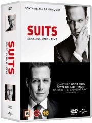 suits - sæson 1-5 - DVD