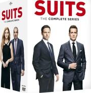 suits - sæson 1 - 9 - den komplette serie - DVD
