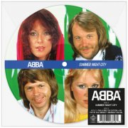 abba - summer night city - billedvinyl - Vinyl / LP
