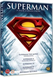 superman 5 film collection - 1978-2006 - DVD