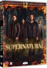supernatural - sæson 12 - DVD