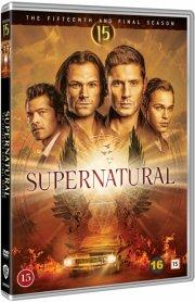 supernatural - sæson 15 - DVD