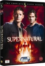 supernatural - sæson 5 - DVD