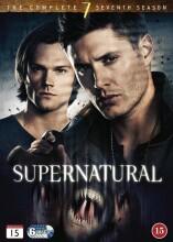 supernatural - sæson 7 - DVD