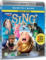 syng / sing film - 2016 - 3D Blu-Ray