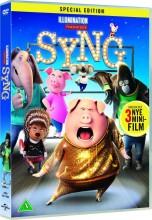 syng / sing film - 2016 - DVD