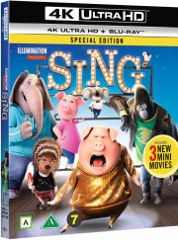 syng / sing film - 2016 - 4k Ultra HD Blu-Ray
