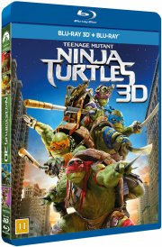 teenage mutant ninja turtles - 3D Blu-Ray