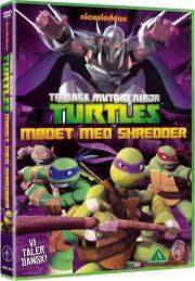 tmnt - teenage mutant ninja turtles vol. 2 - mødet med shredder - DVD