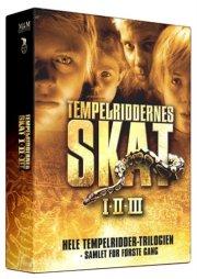 tempelriddernes skat 1-3 - DVD
