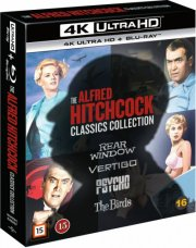 the alfred hitchcock classics collection - 4k Ultra HD Blu-Ray