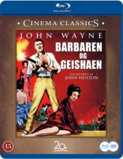 the barbarian and the geisha  - BLU-RAY+DVD