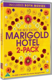 the best exotic marigold hotel // the second best exotic marigold hotel - DVD