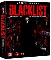 the blacklist - sæson 1-3 - Blu-Ray