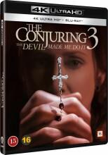 the conjuring 3 / nattens dæmoner 3 - 4k Ultra HD Blu-Ray